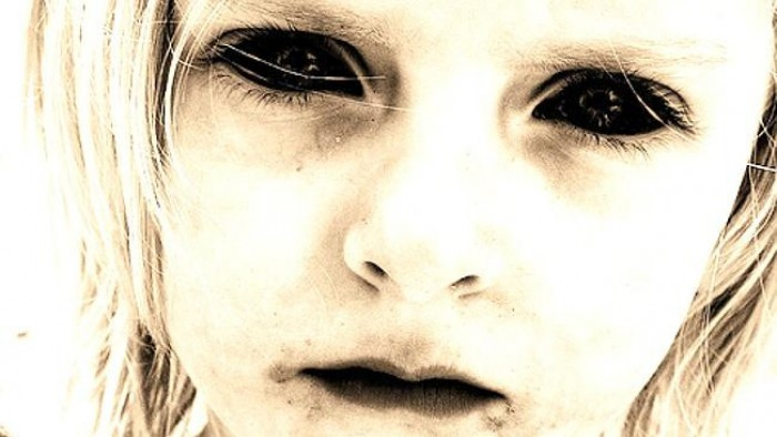 Encounter with Black eyed children