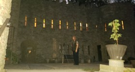 Investigation of Grand Dining Room at Loveland Castle in Ohio