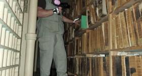 Spectrewaves at Warsaw old jail Kosciusko County, Indiana Spirit box Sheriffs residence Paranormal Activity 888