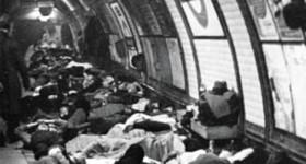 london underground air raid shelter