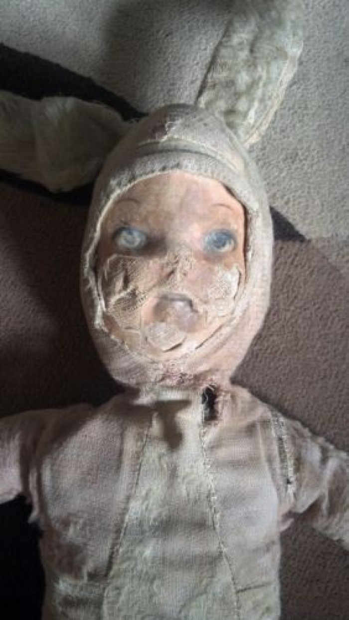 Demonic doll sold on ebay