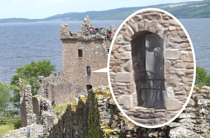 Ghost in Urquhart Castle?