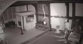 Streak of light at Ordsall Hall