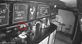 Bassa Villa poltergeist captured on CCTV