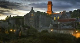 Bodmin-Jail-at-night