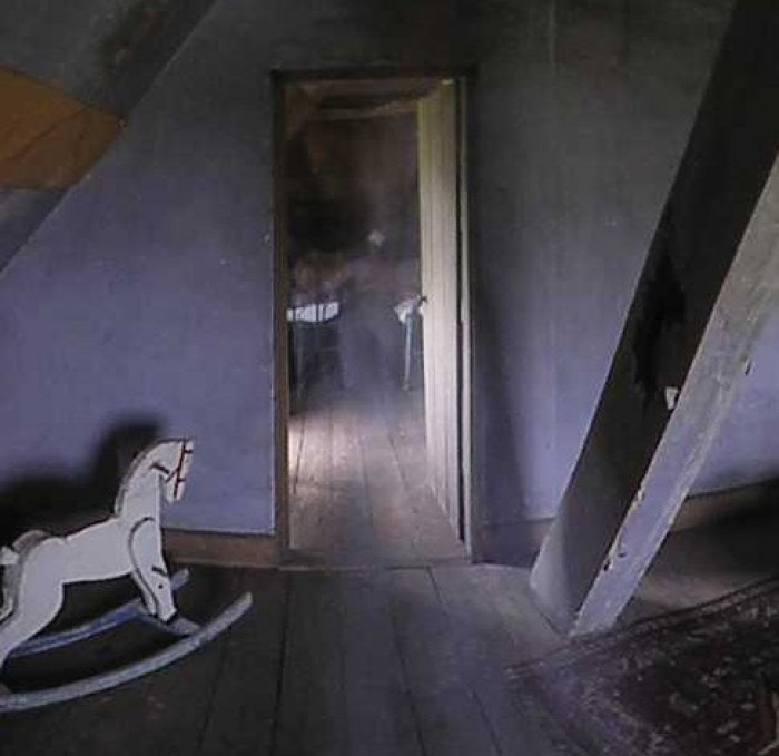 Jenner's attic Ghost
