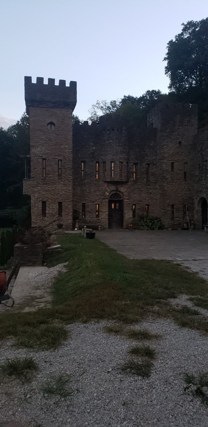 Investigation at Loveland Castle, Ohio USA. 2nd Floor