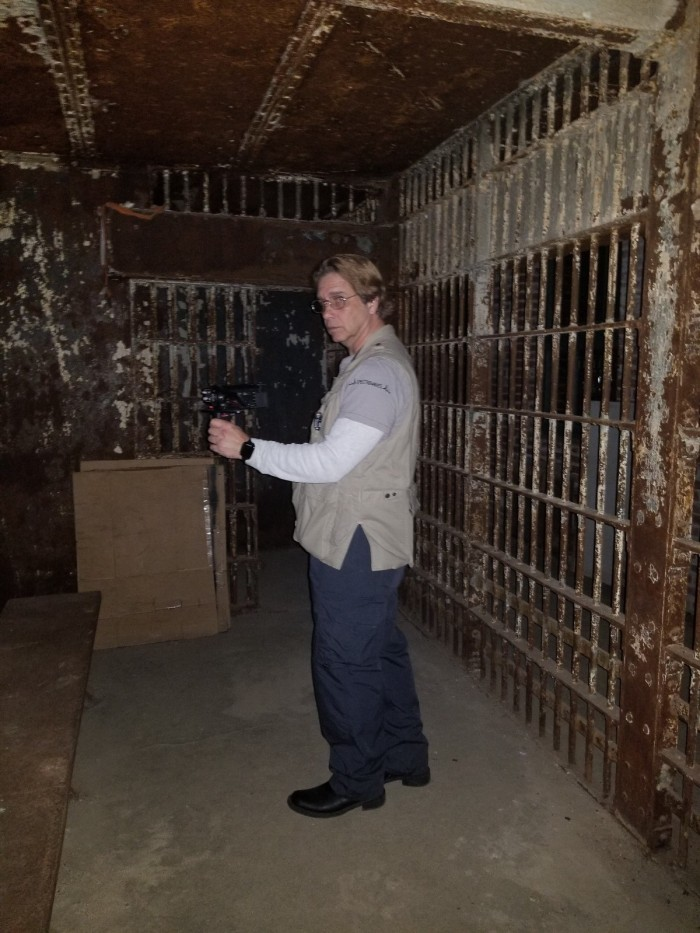 Spirit Box session at The Old Jail House, Indiana USA