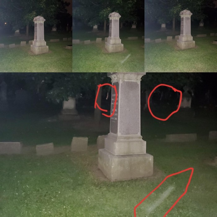 Spectrewaves at Afterlife tour at Spring Lakes Cemetery