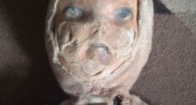 Demonic doll sold on ebay