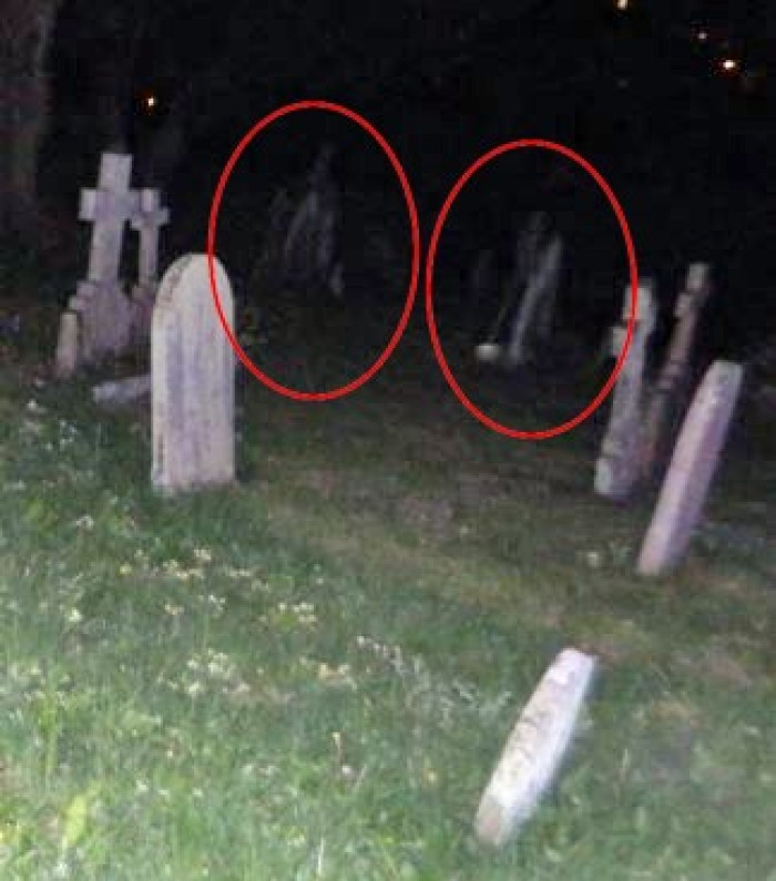Ghost Apparition Caught on Camera